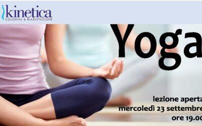 Yoga Lezione aperta