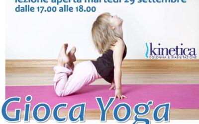 Gioca Yoga Lezione aperta